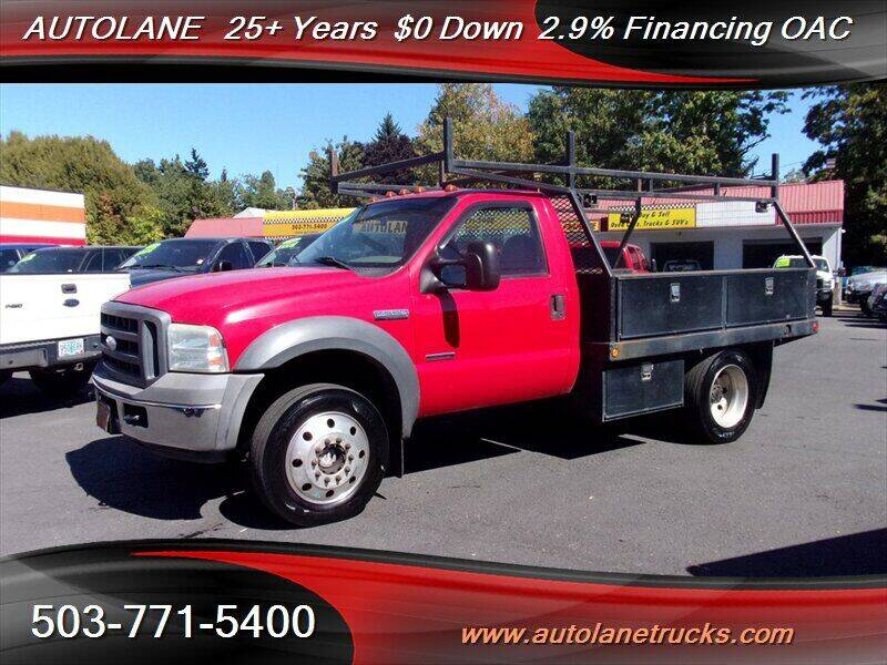 2005 Ford F-550 Super Duty for sale at Auto Lane in Portland OR