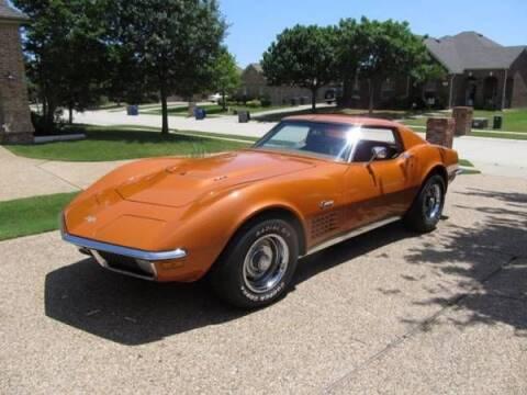 1971 Chevrolet Corvette for sale at Classic Car Deals in Cadillac MI