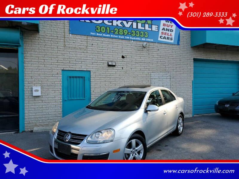 2009 Volkswagen Jetta for sale at Cars Of Rockville in Rockville MD