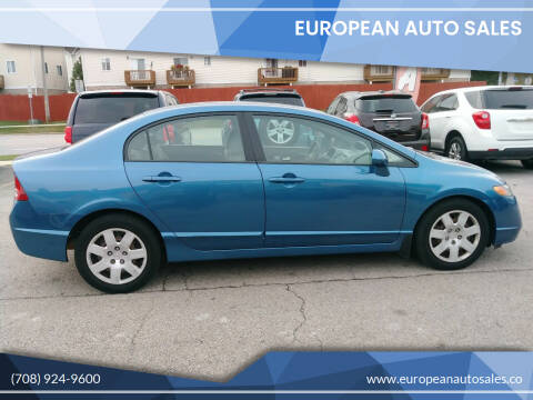 2008 Honda Civic for sale at European Auto Sales in Bridgeview IL
