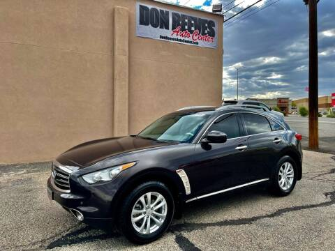 2012 Infiniti FX35 for sale at Don Reeves Auto Center in Farmington NM