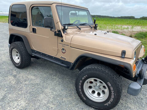 2000 Jeep Wrangler for sale at Shoreline Auto Sales LLC in Berlin MD