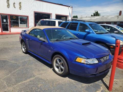 2003 Ford Mustang for sale at J & J Used Cars inc in Wayne MI