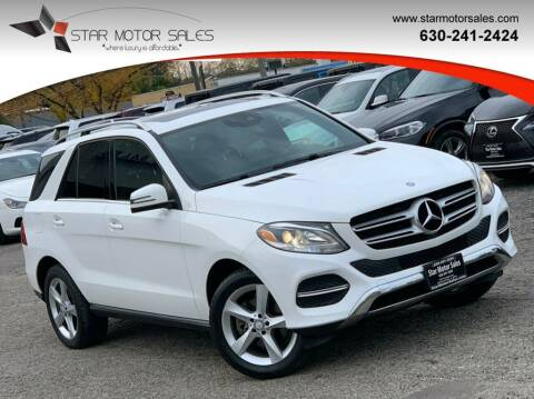 2016 Mercedes-Benz GLE for sale at Star Motor Sales in Downers Grove IL