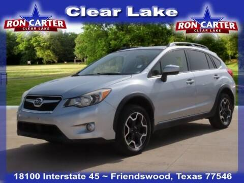 2015 Subaru XV Crosstrek for sale at Ron Carter  Clear Lake Used Cars in Houston TX