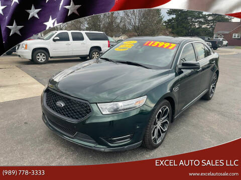 2013 Ford Taurus for sale at Excel Auto Sales LLC in Kawkawlin MI