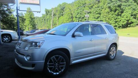 2011 GMC Acadia for sale at Auto Outlet of Morgantown in Morgantown WV