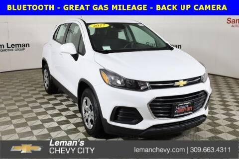 2017 Chevrolet Trax for sale at Leman's Chevy City in Bloomington IL