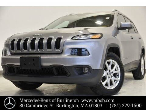 2016 Jeep Cherokee for sale at Mercedes Benz of Burlington in Burlington MA