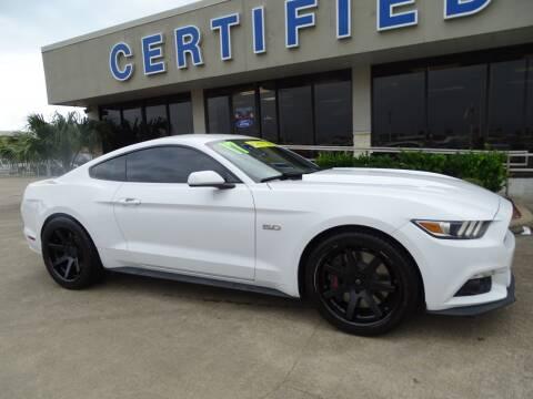 2017 Ford Mustang for sale at Mac Haik Ford Pasadena in Pasadena TX