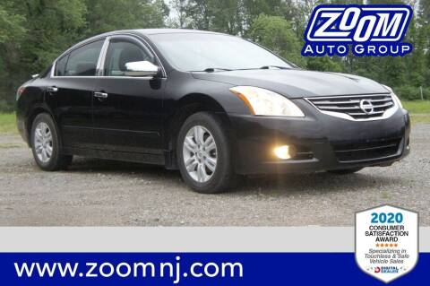 2012 Nissan Altima for sale at Zoom Auto Group in Parsippany NJ