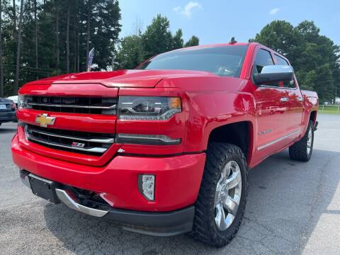 2016 Chevrolet Silverado 1500 for sale at Airbase Auto Sales in Cabot AR