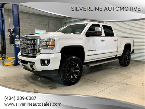 2018 GMC Sierra 2500HD for sale at Silverline Automotive in Lynchburg VA
