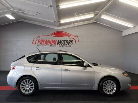 2011 Subaru Impreza for sale at Premium Motors in Villa Park IL