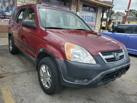 2003 Honda CR-V for sale at USA Auto Brokers in Houston TX