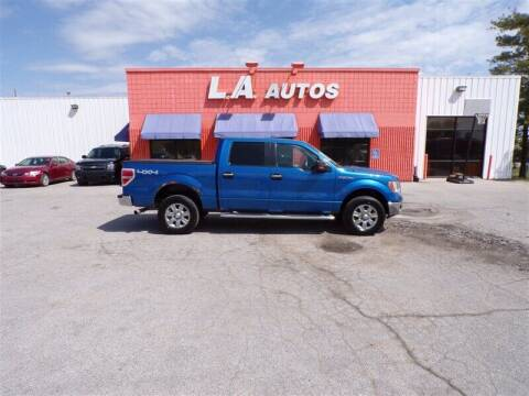 2012 Ford F-150 for sale at L A AUTOS in Omaha NE
