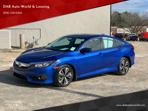 2016 Honda Civic for sale at DAB Auto World & Leasing in Wake Forest NC
