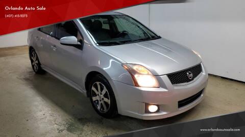 2012 Nissan Sentra for sale at Orlando Auto Sale in Orlando FL