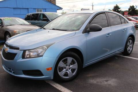 2011 Chevrolet Cruze for sale at Drive Now Auto Sales in Norfolk VA