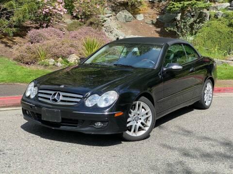 2008 Mercedes-Benz CLK for sale at Mudarri Motorsports in Kirkland WA