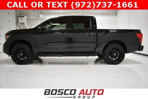 2019 Nissan Titan for sale at Bosco Auto Group in Flower Mound TX