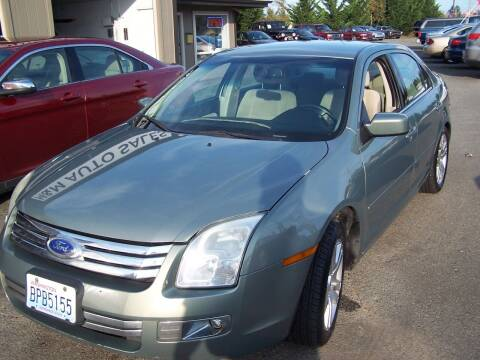 2008 Ford Fusion for sale at M & M Auto Sales LLc in Olympia WA