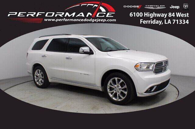 2017 Dodge Durango for sale at Performance Dodge Chrysler Jeep in Ferriday LA