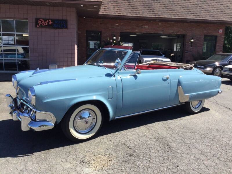 1952 Studebaker Commander for sale at Pat's Auto Sales, Inc. in West Springfield MA