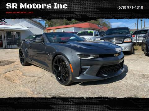 2017 Chevrolet Camaro for sale at SR Motors Inc in Gainesville GA