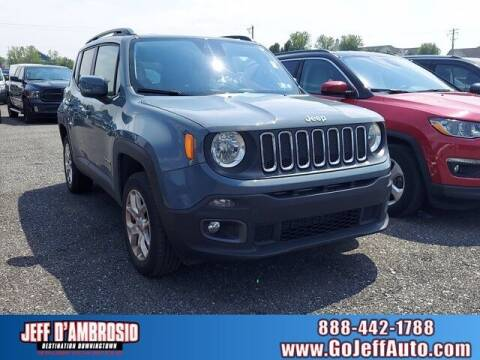 2018 Jeep Renegade for sale at Jeff D'Ambrosio Auto Group in Downingtown PA