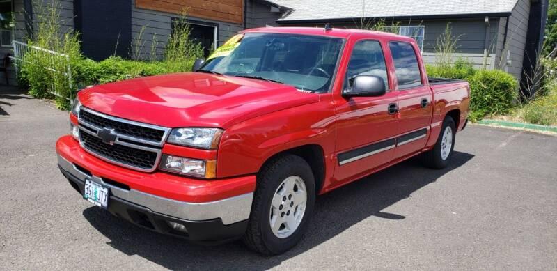2006 Chevrolet Silverado 1500 for sale at Persian Motors in Cornelius OR