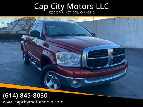 2007 Dodge Ram Pickup 1500 for sale at Cap City Motors LLC in Columbus OH