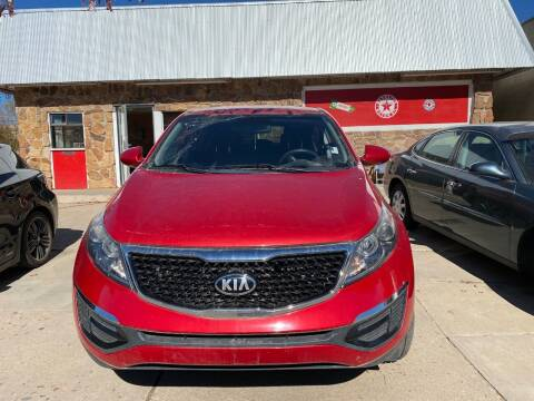 2014 Kia Sportage for sale at PYRAMID MOTORS AUTO SALES in Florence CO
