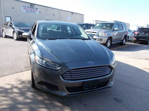 2014 Ford Fusion Hybrid for sale at ACH AutoHaus in Dallas TX
