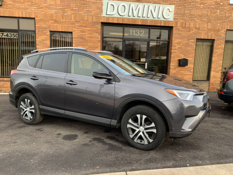 2018 Toyota RAV4 for sale at Dominic Sales LTD in Syracuse NY