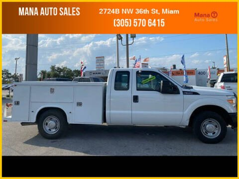 2012 Ford F-350 Super Duty for sale at MANA AUTO SALES in Miami FL