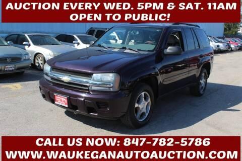 2008 Chevrolet TrailBlazer for sale at Waukegan Auto Auction in Waukegan IL