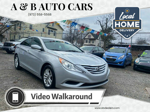 2011 Hyundai Sonata for sale at A & B Auto Cars in Newark NJ