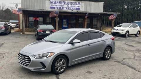 2017 Hyundai Elantra for sale at Greenbrier Auto Sales in Greenbrier AR
