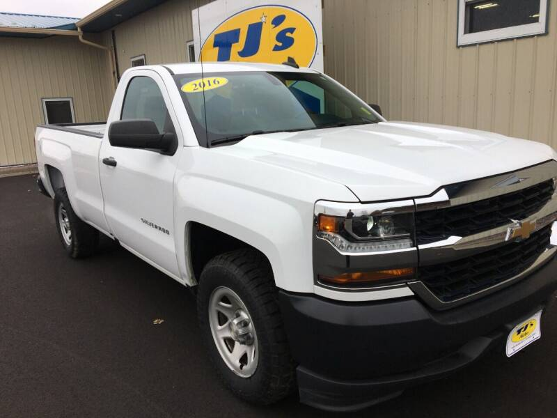 2016 Chevrolet Silverado 1500 4x2 Work Truck 2dr Regular Cab 8 ft. LB - Wisconsin Rapids WI