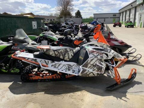 2017 Arctic Cat ZR 8000 Limited ES (137) for sale at Road Track and Trail in Big Bend WI