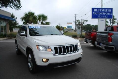 2012 Jeep Grand Cherokee for sale at BlueWater MotorSports in Wilmington NC