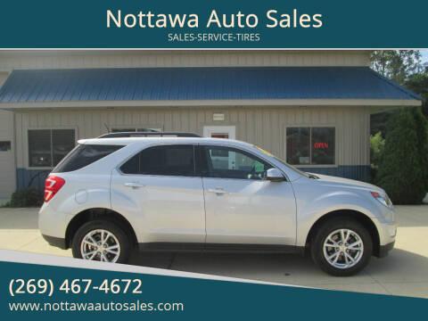 2017 Chevrolet Equinox for sale at Nottawa Auto Sales in Nottawa MI
