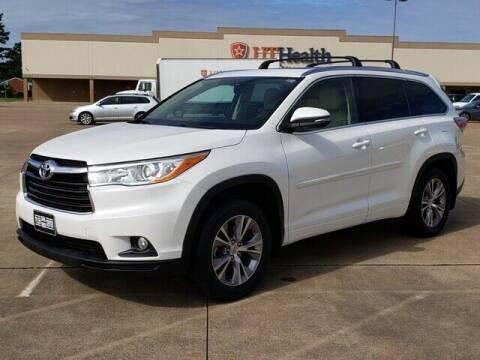 2015 Toyota Highlander for sale at Tyler Car  & Truck Center in Tyler TX