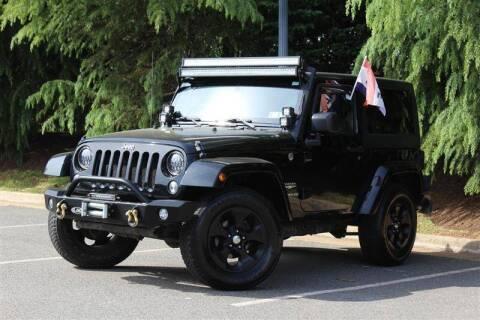 2014 Jeep Wrangler for sale at Quality Auto in Manassas VA