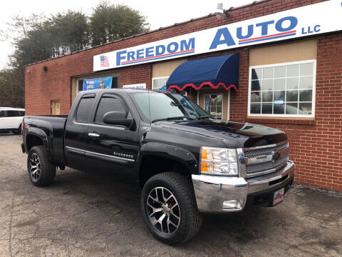 2013 Chevrolet Silverado 1500 for sale at FREEDOM AUTO LLC in Wilkesboro NC