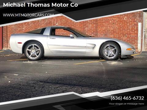 2002 Chevrolet Corvette for sale at Michael Thomas Motor Co in Saint Charles MO