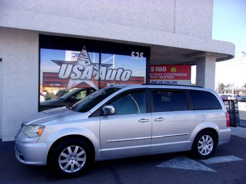 2011 Chrysler Town and Country for sale at USA Auto Inc in Mesa AZ