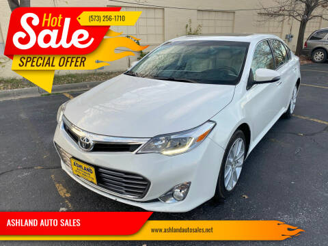2014 Toyota Avalon for sale at ASHLAND AUTO SALES in Columbia MO