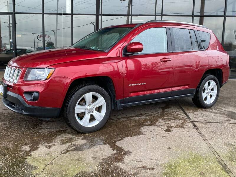 2014 Jeep Compass for sale at South Commercial Auto Sales in Salem OR